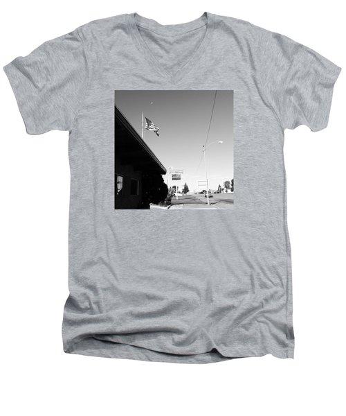 Small Town Life Men's V-Neck T-Shirt