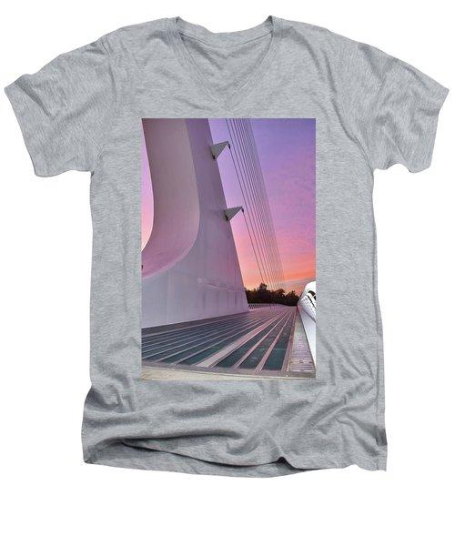 Sundial Bridge Men's V-Neck T-Shirt