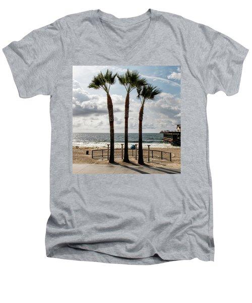 3 Trees Men's V-Neck T-Shirt