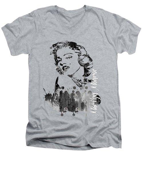 Marilyn Monroe Collection Men's V-Neck T-Shirt