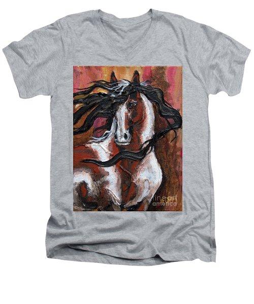 #33 July 23rd 2015 Men's V-Neck T-Shirt