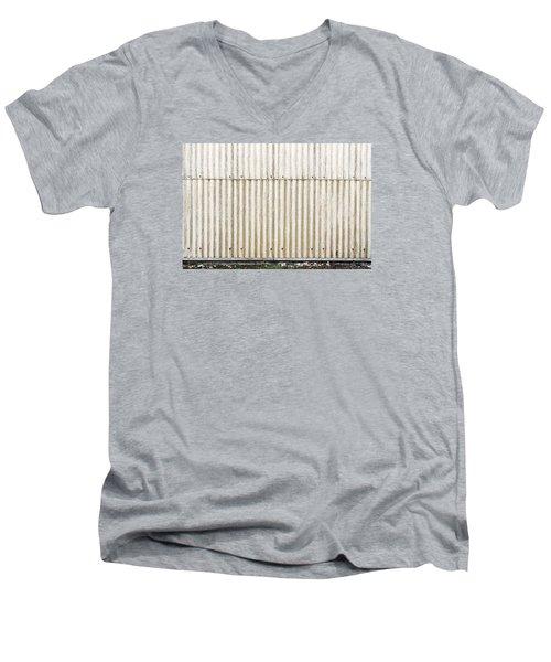 Metal Background Men's V-Neck T-Shirt