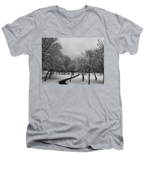 3416 Men's V-Neck T-Shirt