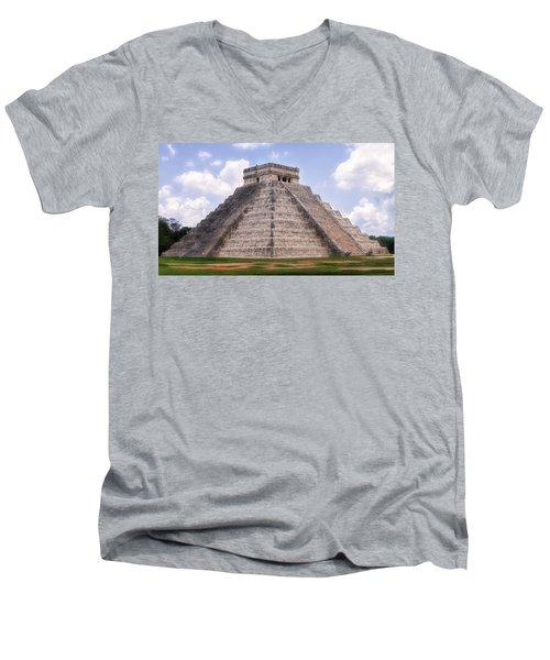 365 Steps Of The Year Men's V-Neck T-Shirt