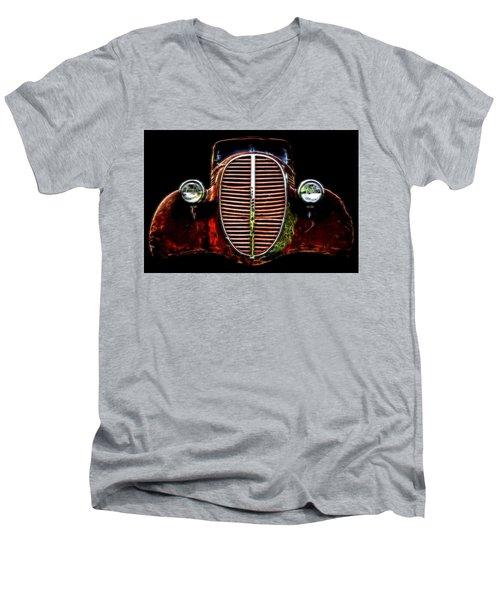 37 Chevy Men's V-Neck T-Shirt