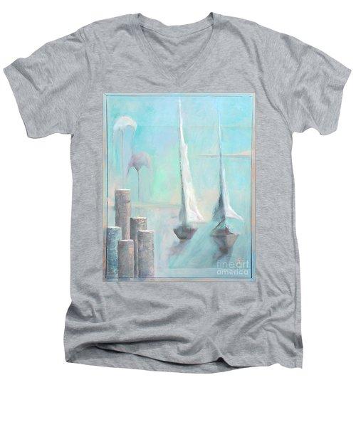 A Morning Memory Men's V-Neck T-Shirt