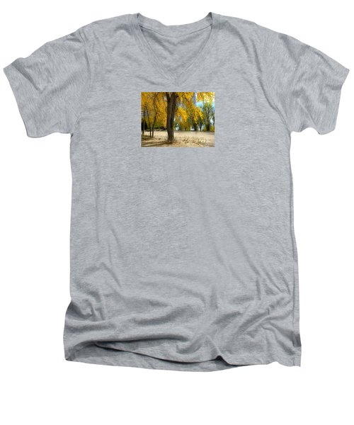 3975 Men's V-Neck T-Shirt by Peter Holme III