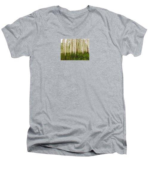 3993 Men's V-Neck T-Shirt by Peter Holme III