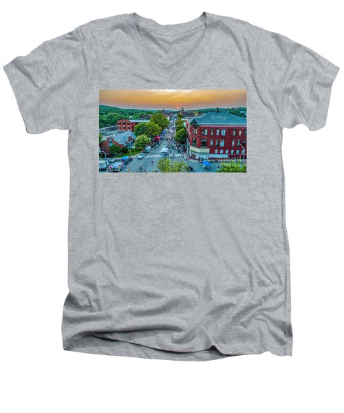 3rd Thursday Sunset Men's V-Neck T-Shirt
