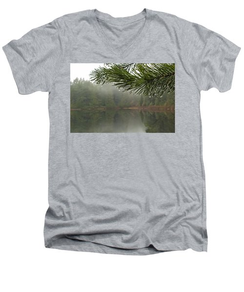 After The Rain Men's V-Neck T-Shirt by Inge Riis McDonald