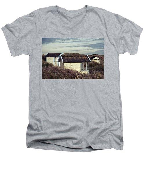 Beach Houses And Dunes Men's V-Neck T-Shirt