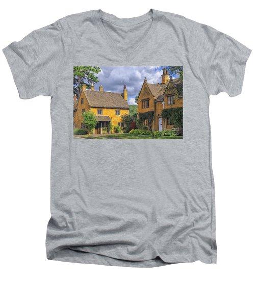 Broadway Village Men's V-Neck T-Shirt