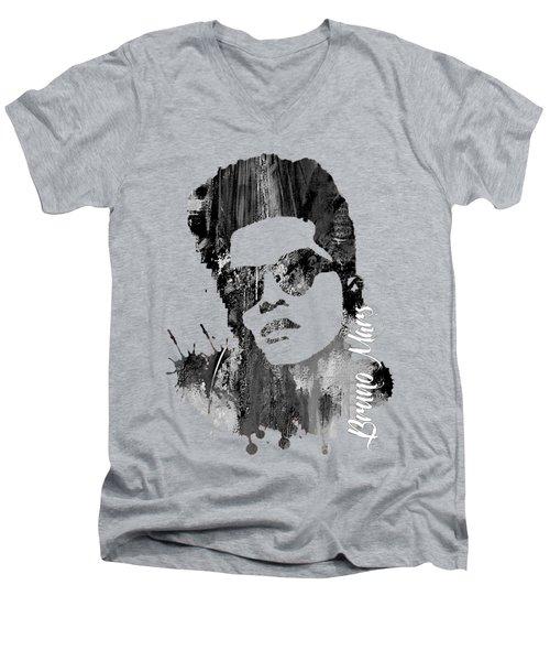 Bruno Mars Collection Men's V-Neck T-Shirt