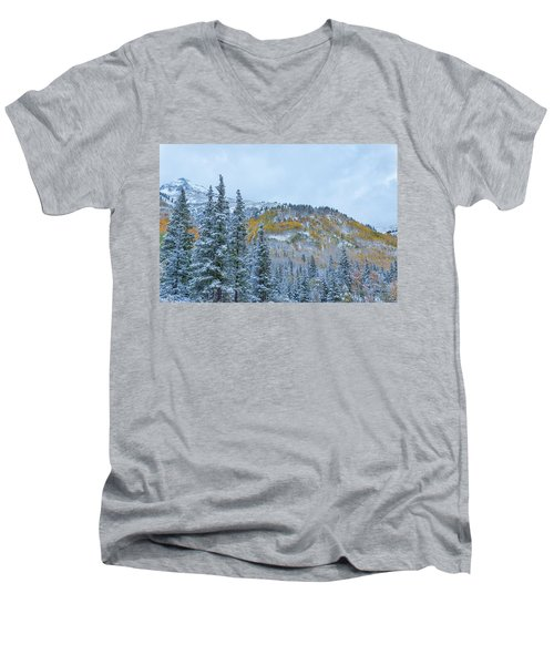 Colorado Fall Foliage 2 Men's V-Neck T-Shirt