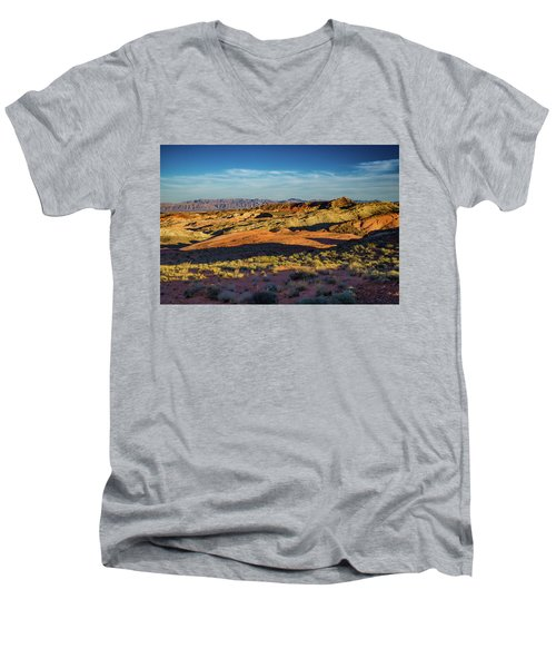 I Could Hear For Miles. Men's V-Neck T-Shirt