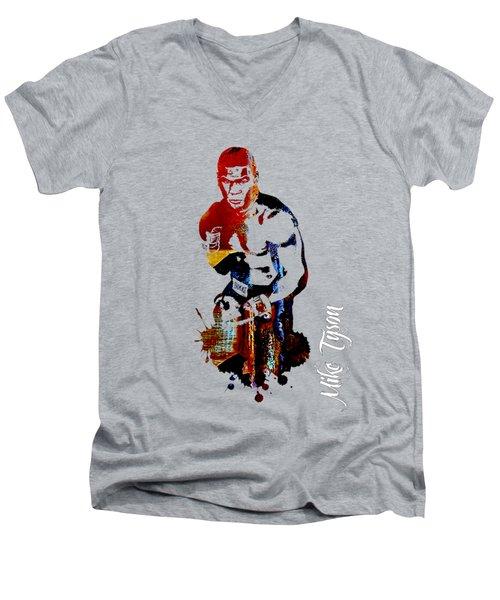 Mike Tyson Collection Men's V-Neck T-Shirt