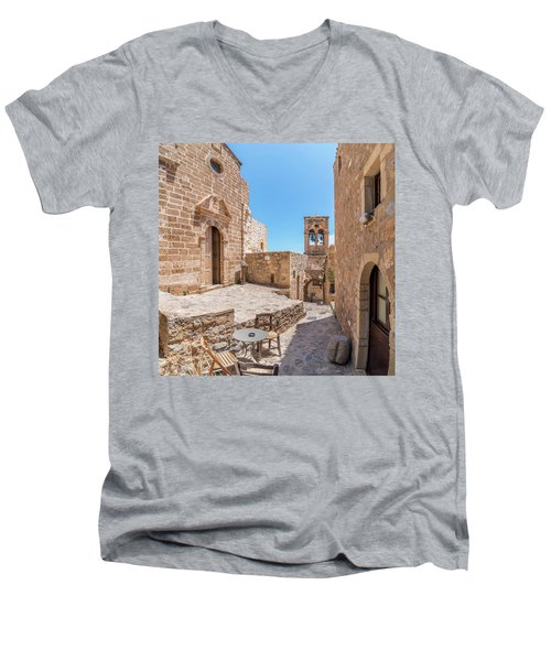 Monemvasia - Greece Men's V-Neck T-Shirt