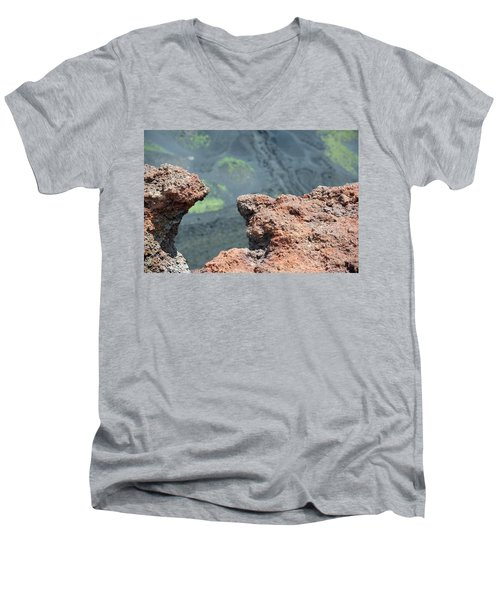 Mount Etna Men's V-Neck T-Shirt