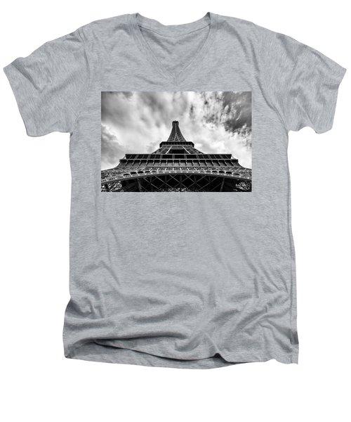 Paris Men's V-Neck T-Shirt