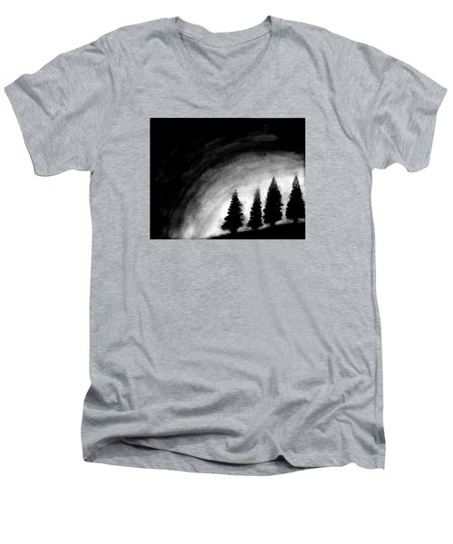 4 Pines Men's V-Neck T-Shirt