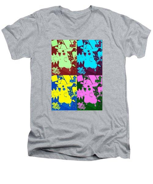 Pokemon - Pikachu Men's V-Neck T-Shirt