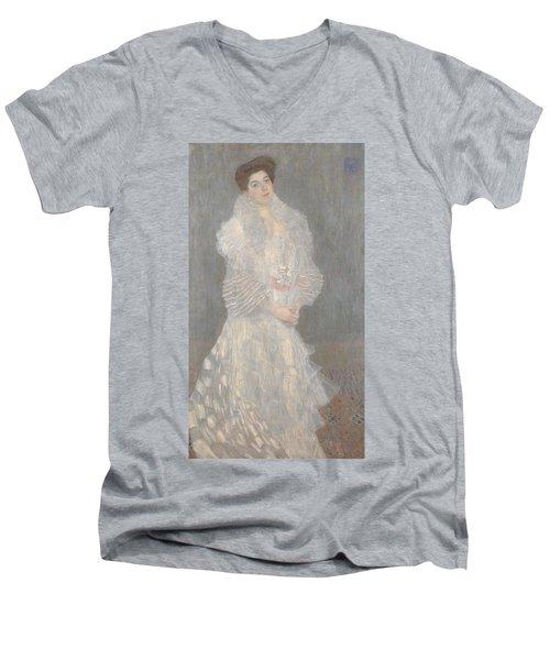 Portrait Of Hermine Gallia Men's V-Neck T-Shirt