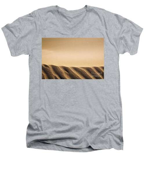 Sand Dunes Men's V-Neck T-Shirt