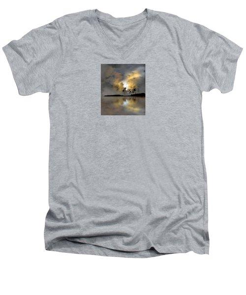 4066 Men's V-Neck T-Shirt by Peter Holme III