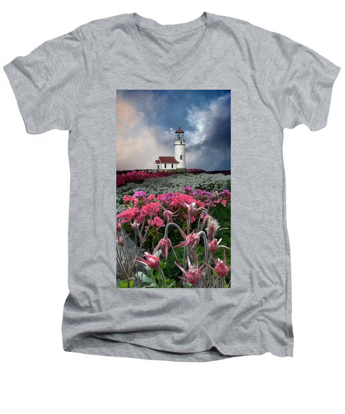 4170 Men's V-Neck T-Shirt by Peter Holme III