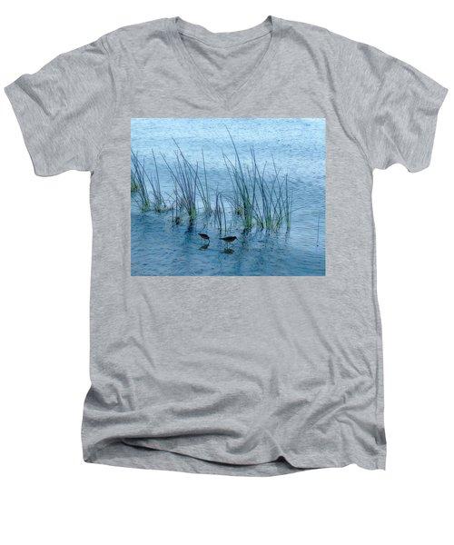 4177 Men's V-Neck T-Shirt by Peter Holme III