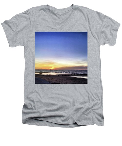 Instagram Photo Men's V-Neck T-Shirt by John Edwards