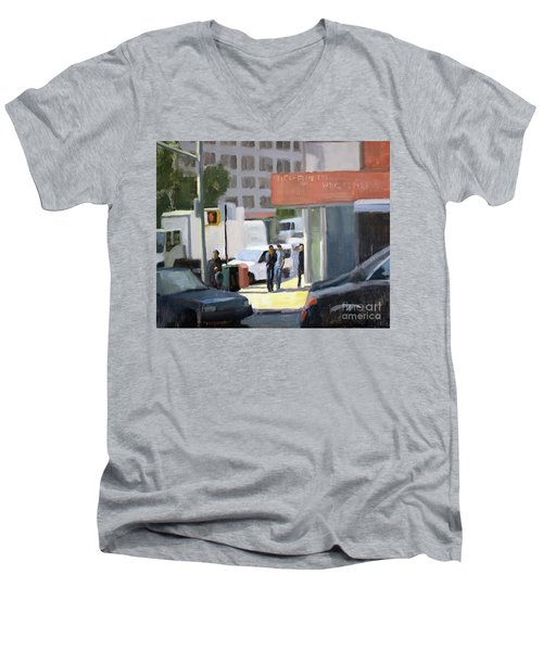 44th And 4th Men's V-Neck T-Shirt