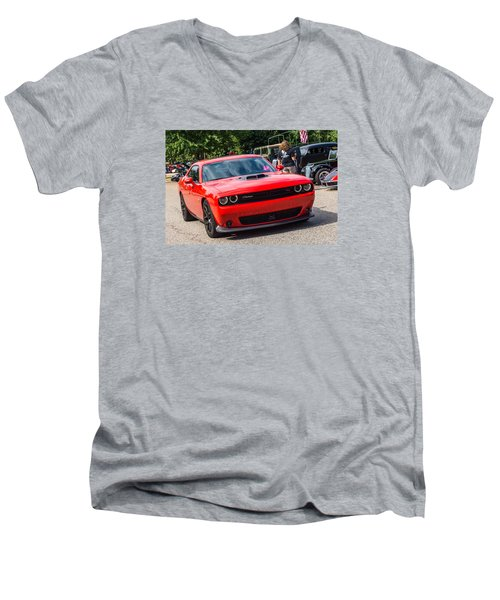 Hall County Sheriffs Office Show And Shine Car Show Men's V-Neck T-Shirt