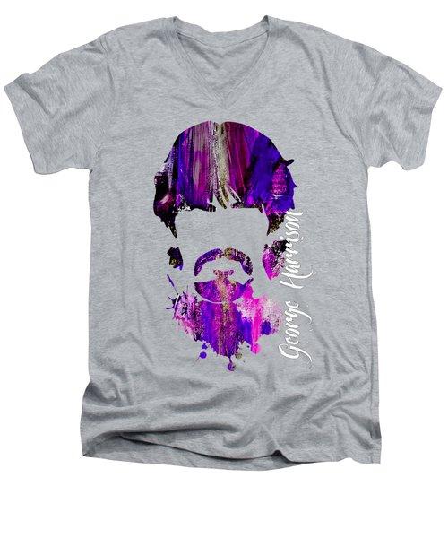 George Harrison Collection Men's V-Neck T-Shirt