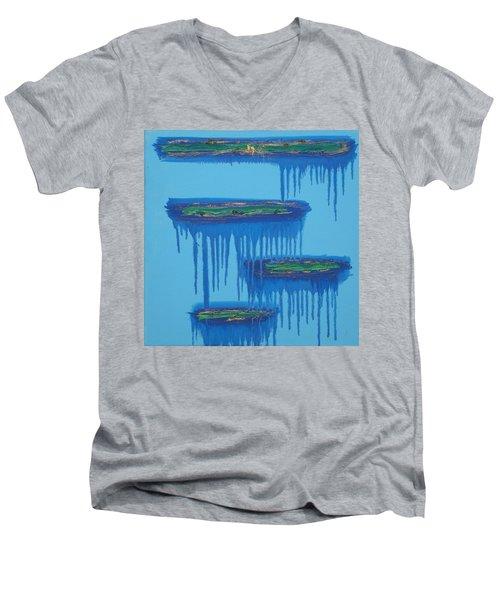 4levels4fellings4you Men's V-Neck T-Shirt