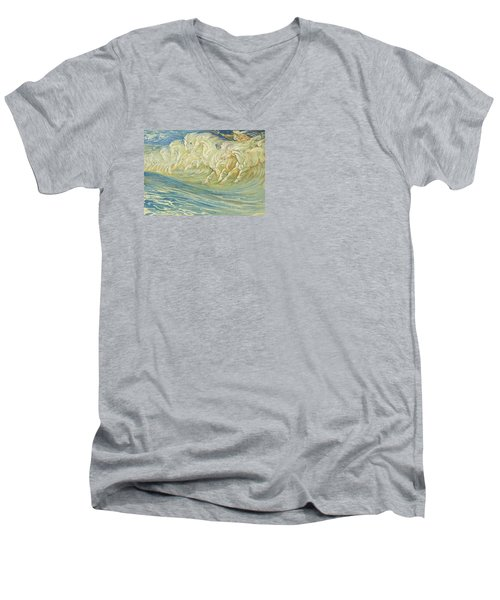 Neptune's Horses Men's V-Neck T-Shirt
