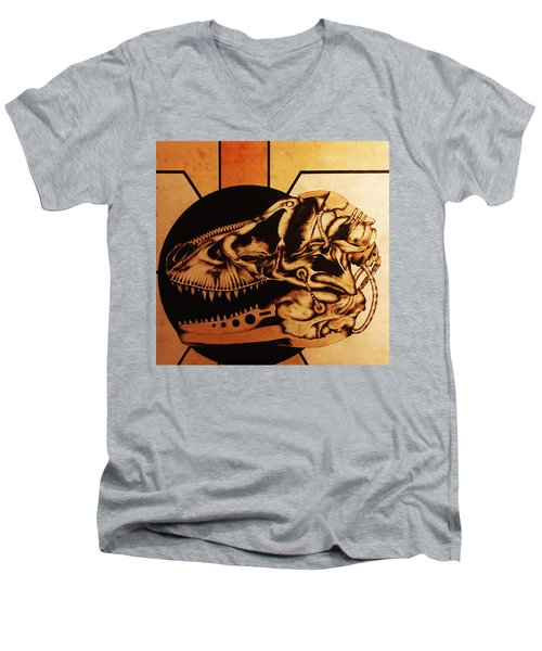 Untitled Men's V-Neck T-Shirt by Jeff DOttavio