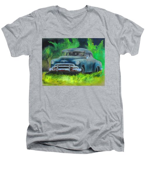 50 Chevy Men's V-Neck T-Shirt