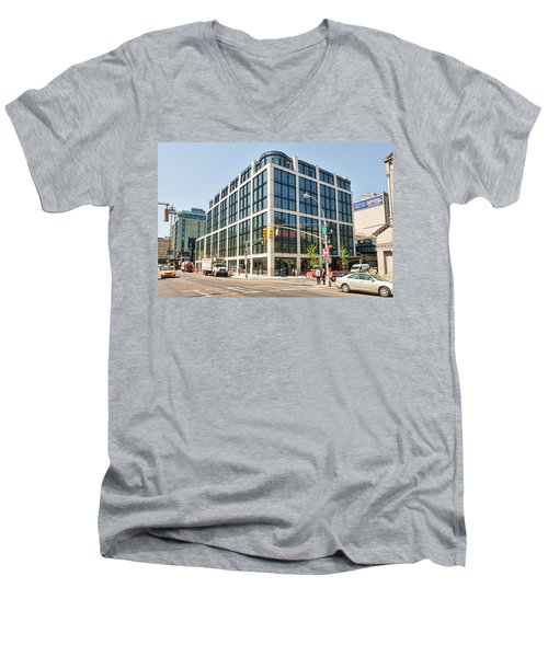 500 W 21st Street 5 Men's V-Neck T-Shirt