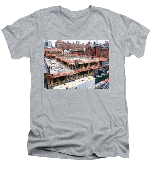 500 W21st Street 2 Men's V-Neck T-Shirt
