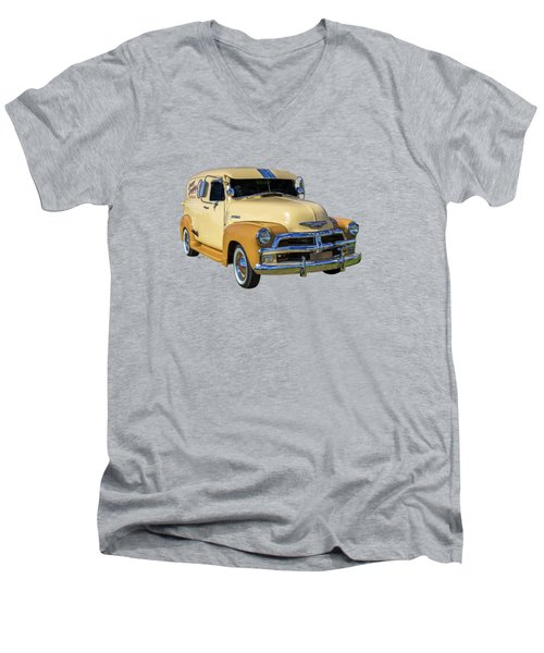 54 Delivery Men's V-Neck T-Shirt by Keith Hawley