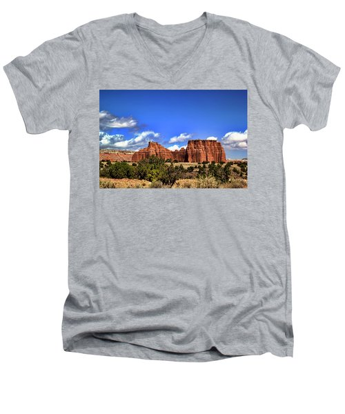 Capitol Reef National Park Men's V-Neck T-Shirt
