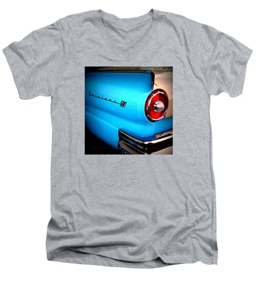 57 Ford Fairlane  Men's V-Neck T-Shirt