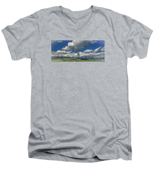 #5773 - Southwest Montana Men's V-Neck T-Shirt