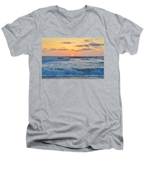 6/26 Obx Sunrise Men's V-Neck T-Shirt