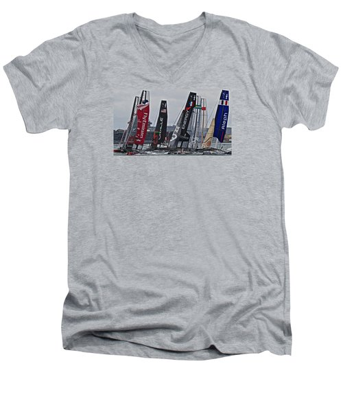 America's Cup World Series Men's V-Neck T-Shirt