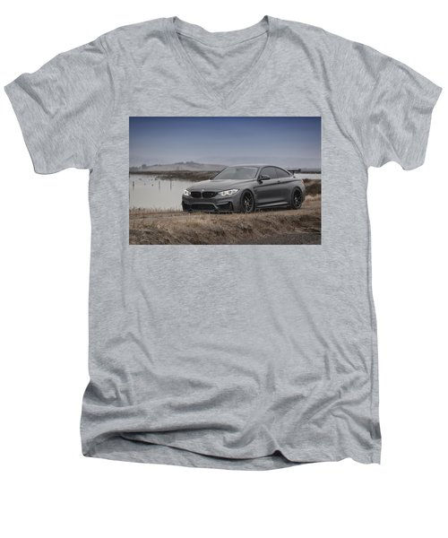 Bmw M4 Men's V-Neck T-Shirt
