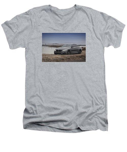 Bmw M4 Men's V-Neck T-Shirt