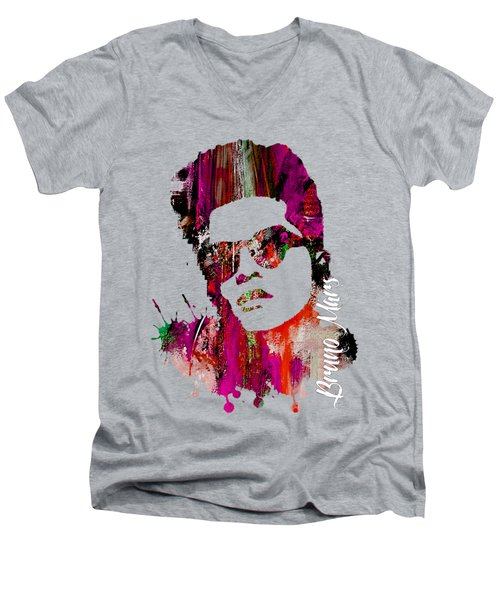 Bruno Mars Collection Men's V-Neck T-Shirt