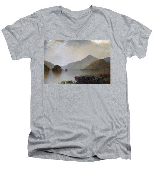 Lake George Men's V-Neck T-Shirt